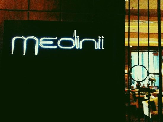 The Continent Hotel Bangkok by Compass Hospitality: Medini restaurant entrance