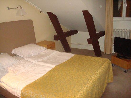 Elite Hotel Knaust: Vårt rum!