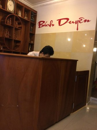Bich Duyen Hotel: reception