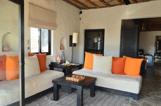 Six Senses Zighy Bay: lounge area