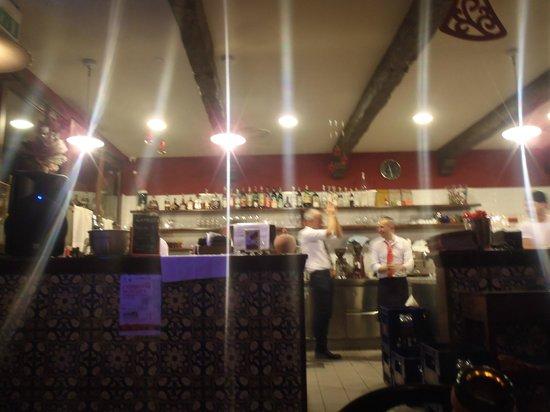 Pizzeria Asso De Cope: Il bancone