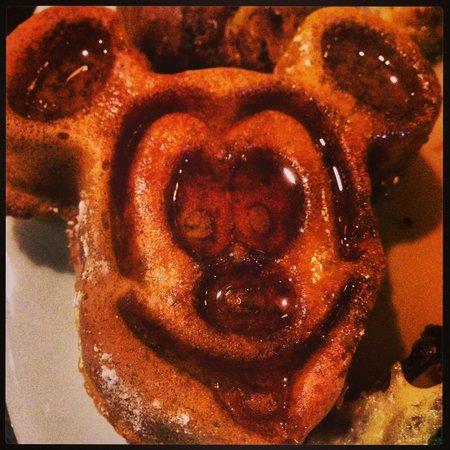 Disney's Beach Club Resort: The Mickey Waffles rocked!