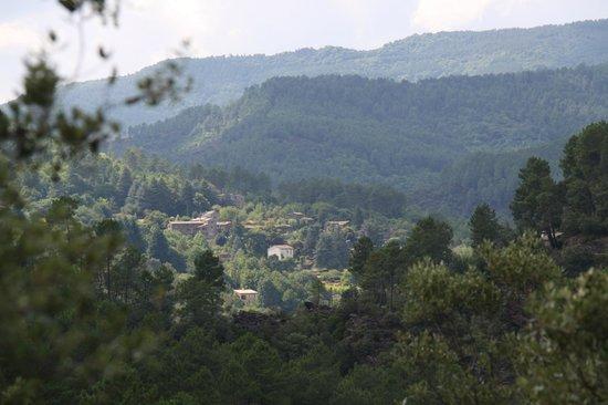 Domaine de Bayssac : Vue du mas