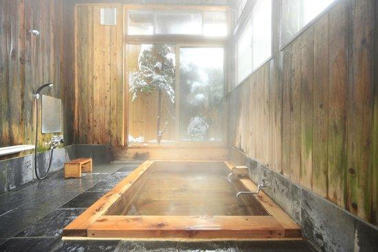 Yudanaka Seifuso : 檜風呂