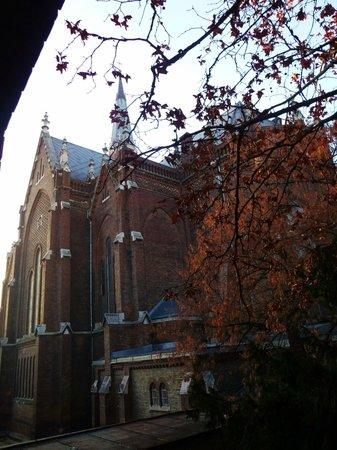 Dominik Panzio : Вид из окна на церковь