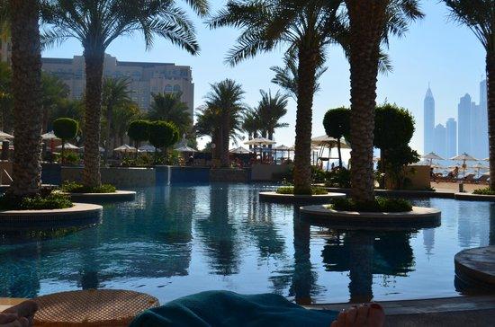 Fairmont The Palm, Dubai: one of the four pools