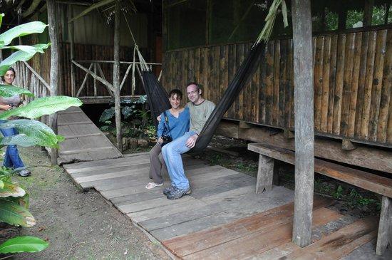 Otorongo Amazon River Lodge : Resting after a nice walk