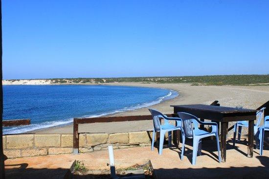 Lara Beach: beach - view from restaurant