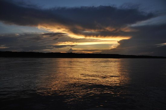 Otorongo Expeditions Jungle Lodge: Views of Amazonas