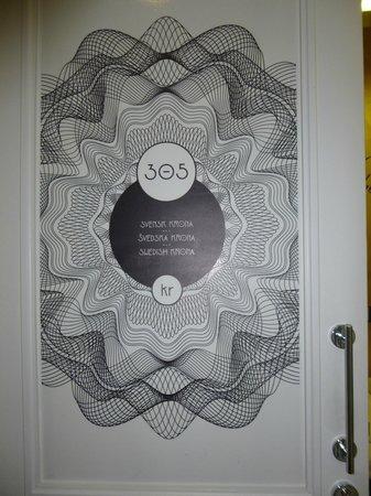Hostel Tresor: ecco la porta della nostra camera