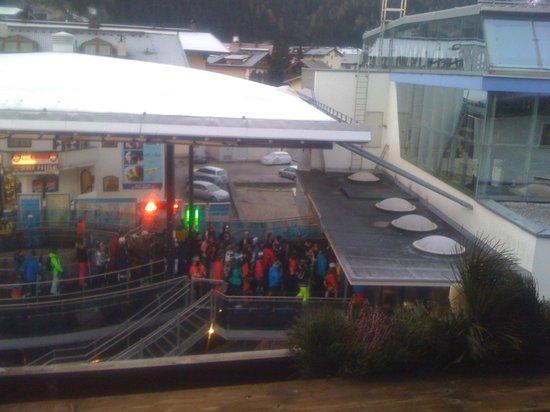 Sporthotel Strass: Proximity of Ski Lift from hotel