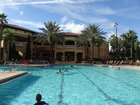 small quiet pool picture of floridays resort orlando. Black Bedroom Furniture Sets. Home Design Ideas