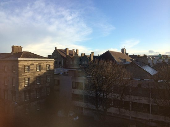 The Westin Dublin: View from room 237 - Junior suite