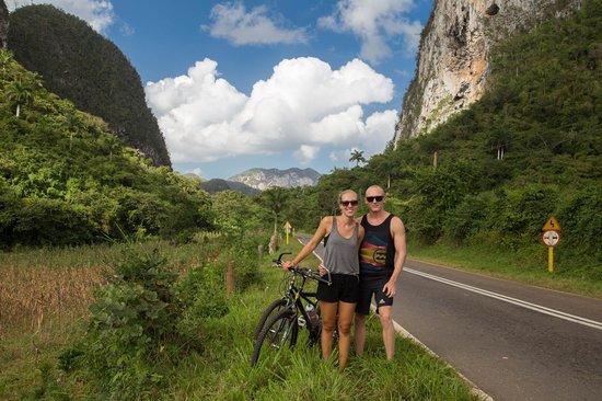 Casa Nora: Bike ride in Vinales