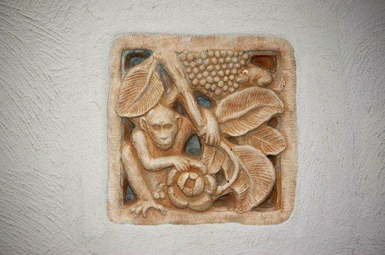 Bo Phut Resort & Spa: Example of wall detail