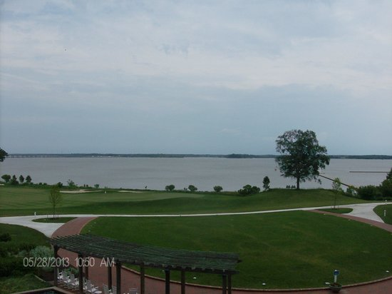 Hyatt Regency Chesapeake Bay Golf Resort, Spa & Marina : Balcony view