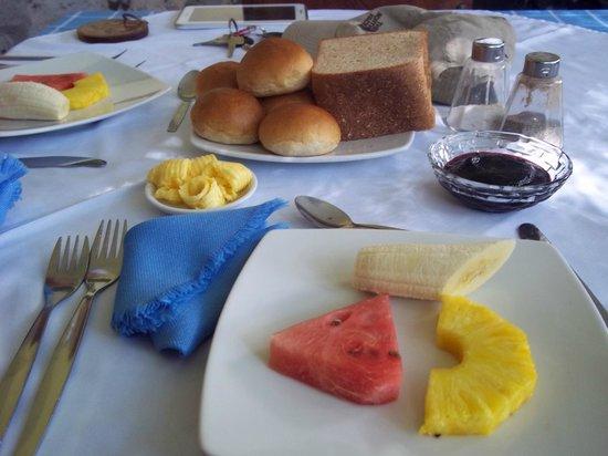 Hacienda La Cienega: Entrada de desayuno