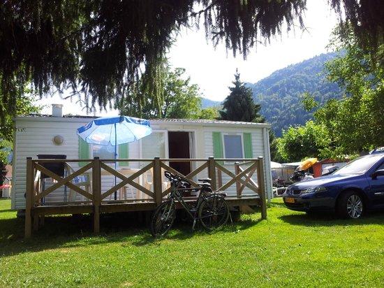 Camping Le Verger Fleuri: mobilhome