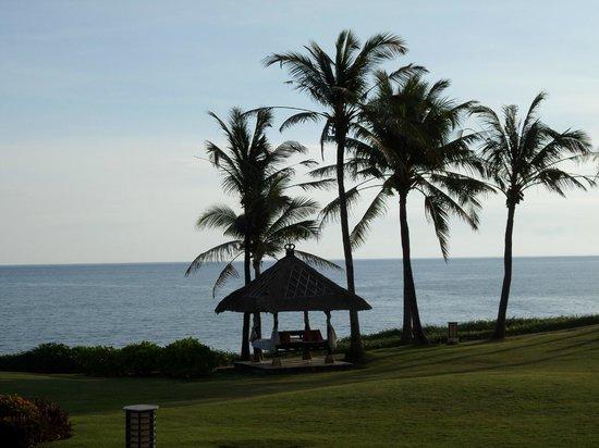 Pan Pacific Nirwana Bali Resort: Relax and enjoy the view