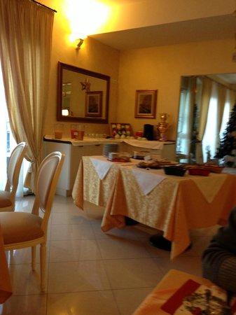Hotel Borgo dei Poeti Wellness Resort: sala colazione