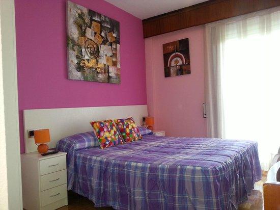 Alojamientos Pamplona: Habitación Cama Doble -
