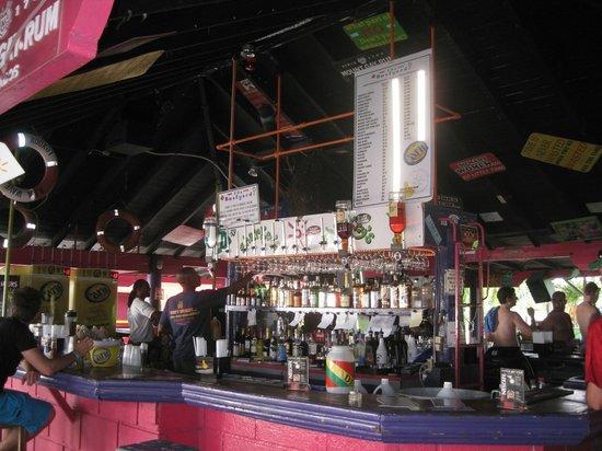 The Boatyard: Inside at the bar
