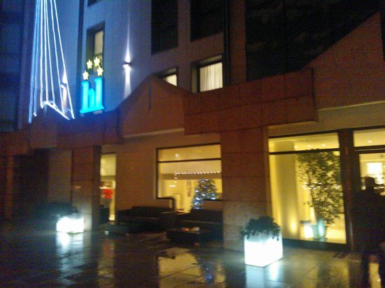 Hotel Lugano Torretta: Hotel by night a Natale!