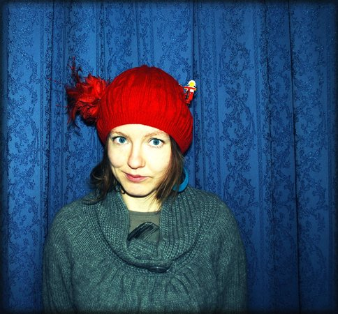 Pogacia Photo: Me  - selfpotrtrait with a hat