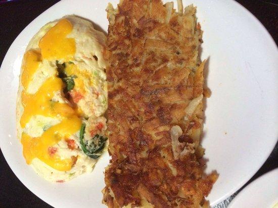 The Peppermill Restaurant & Fireside Lounge: Garden omelette