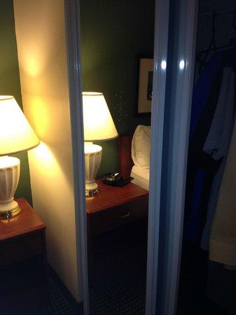 Residence Inn Philadelphia West Chester/Exton: Splatter on Mirror