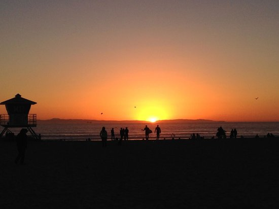 The Waterfront Beach Resort, A Hilton Hotel : Huntington Beach Sunset