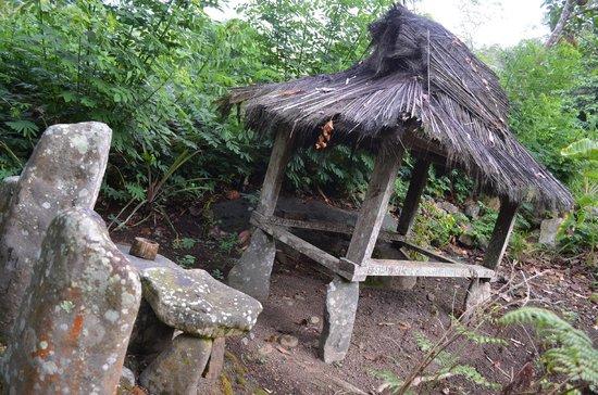 Kelimutu Crater Lakes Eco Lodge : Traditioneller Schrein am Hotelgelände