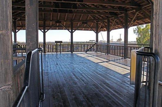 Yuma Territorial Prison State Historic Park: Guard tower at Yuma Territorial Prison