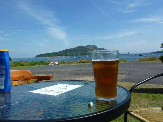 Relaxing and enjoying the view from the Drift Inn