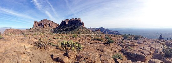 Lost Dutchman State Park: Top of Flat Iron