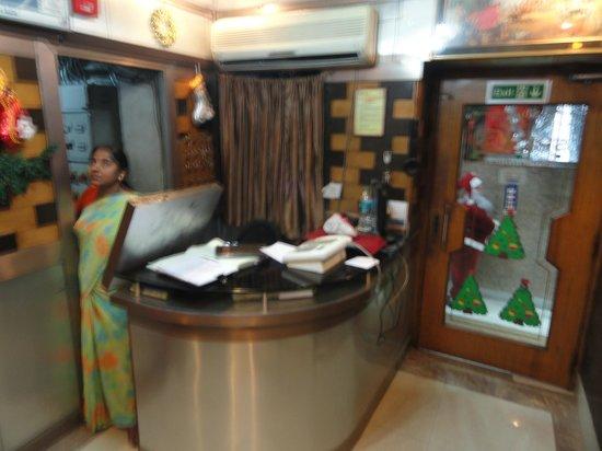 Shila International Hotel : The reception