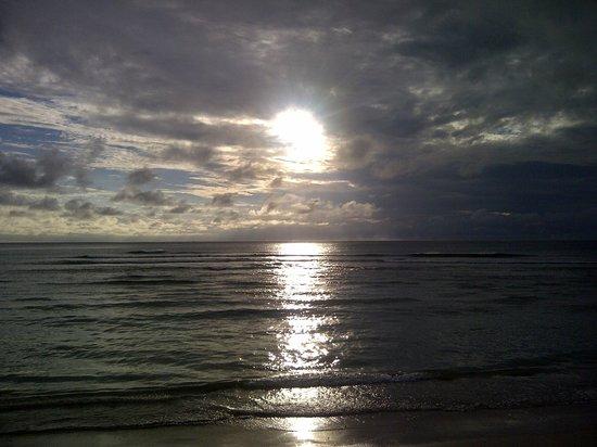 InterContinental Fiji Golf Resort & Spa: puesta de sol en Fiji