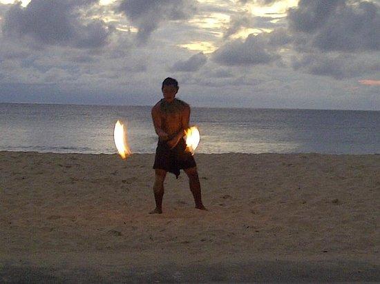 InterContinental Fiji Golf Resort & Spa: ceremonia del fuego