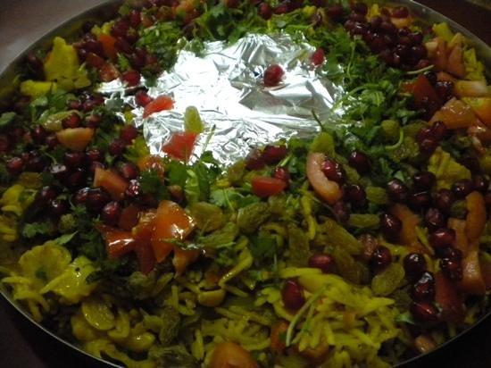 Spice Paradise: rice dish