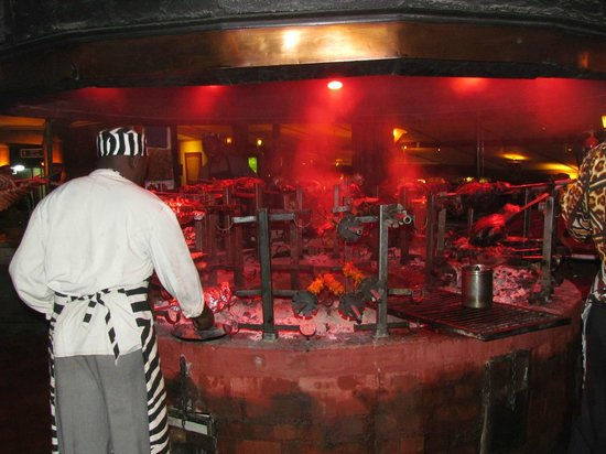 The Carnivore Restaurant: the brazier
