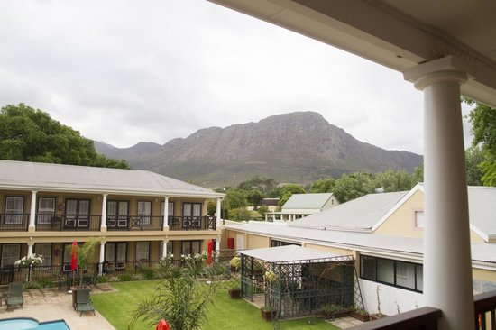 Protea Hotel by Marriott Franschhoek: View from balcony