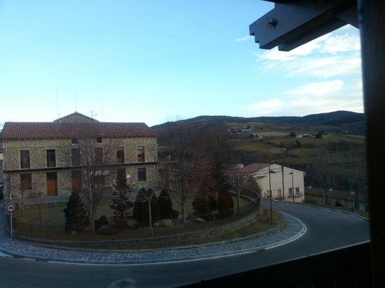 Hotel Calitxo: Vista desde la otra ventana de la habitación