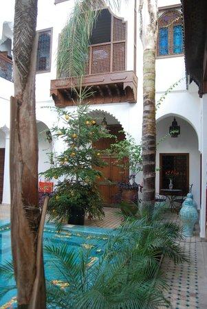 Riad Ghali: Patio Interior