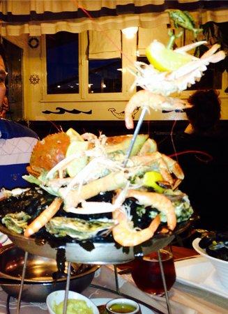 Le Narval : Seafood platter