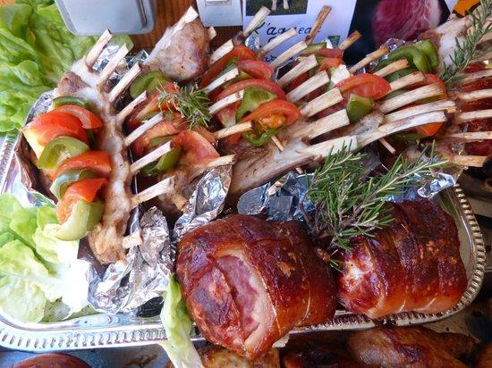 Viandes grill es la flamme photo de la maison du bon poulet la napoule tripadvisor - La maison du poulet ...