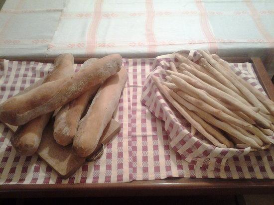 Il pane dell'agriturismo La Primula a Lequio Tanaro