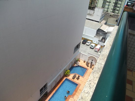 HM  Hotel: fotos da sacada