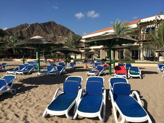 Fujairah Rotana Resort & Spa - Al Aqah Beach: Пляж