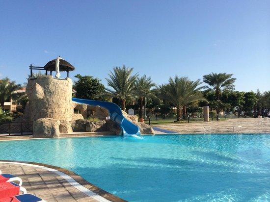 Fujairah Rotana Resort & Spa - Al Aqah Beach: Горка в бассейне