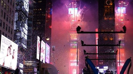 Renaissance New York Times Square Hotel Years Eve Ball Drop 2017 Just